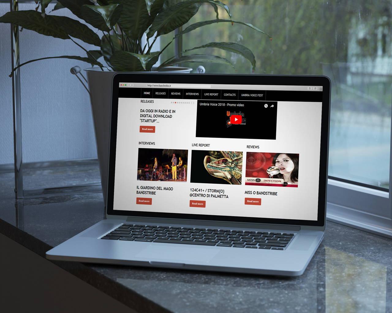 Bandstribe.it - Website