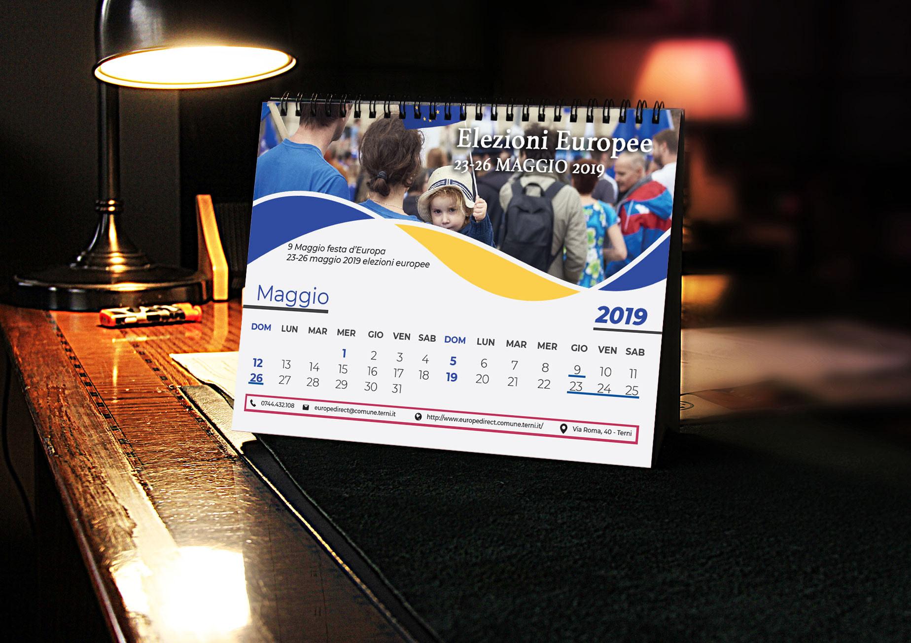 Calendario da Tavolo - Europe Direct