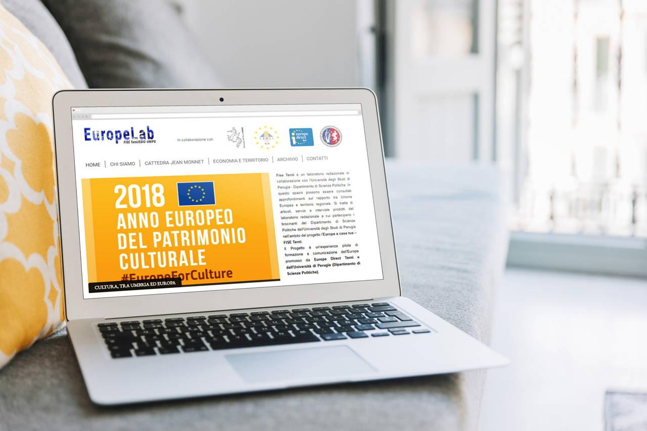 Europelab - Website