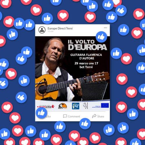 Campagna social Facebook - Europe Direct Terni